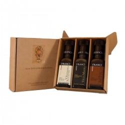 3er Geschenk Set Natives Olivenöl Extra - Franci - 3x100ml