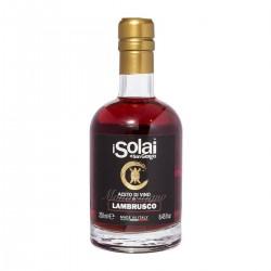 Sortenreiner Lambrusco Weinessig - I Solai - 250ml
