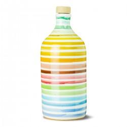 Olivenöl Extra Vergine Keramisches Glas Regenbogen peranzana - Muraglia - 500ml