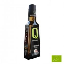 Natives Bio Olivenöl Extra Vergine Knoblauch - Quattrociocchi - 250ml