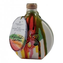 Olivenöl Extra Vergine Keramikflasche Farbe Fall - Silvi Sabina Sapori - 500ml