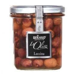 Oliven Leccina - De Carlo - 330gr