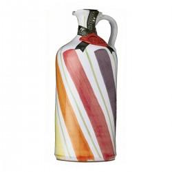 Olivenöl Extra Vergine Keramisches Glas Regenbogen - Galantino - 500ml