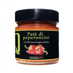 Chili Aufstrich Patè di Peperoncini - Quattrociocchi - 190gr