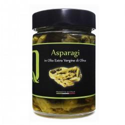 Spargel in Extra Nativem Olivenöl Asparagi in olio extra vergine di oliva -...