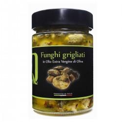 Gegrillte Pilze in Extra nativem Olivenöl - Quattrociocchi - 320gr