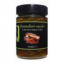 Getrocknete Tomaten in extra nativem Olivenöl - Quattrociocchi - 320gr