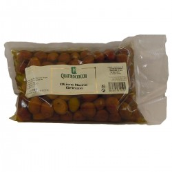Black Olives Grinze - Quattrociocchi - 500gr