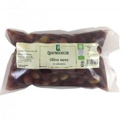 Black Olives in brine - Quattrociocchi - 500gr