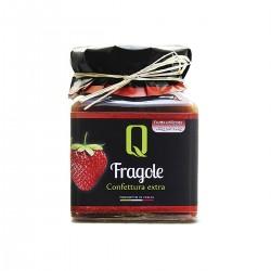 Erdbeerkonfitüre Confettura di Fragole - Quattrociocchi - 350gr