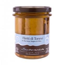 Thunfischfilets in Olivenöl extra vergine - Sommariva - 200gr