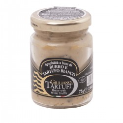 Butter und weißer Trüffel - Giuliano Tartufi - 75gr