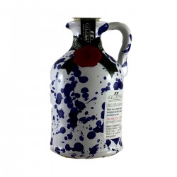 Olivenöl Extra Vergine Keramisches Glas Blau - Galantino - 100ml