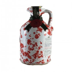 Olivenöl Extra Vergine Keramisches Glas Rot - Galantino - 100ml