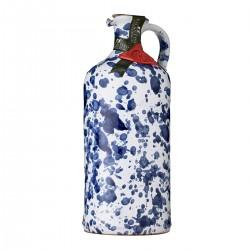 Olivenöl Extra Vergine Keramisches Glas Blau - Galantino - 500ml