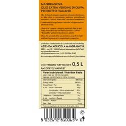 Olivenöl Extra Vergine Biancolilla - Mandranova - 500ml