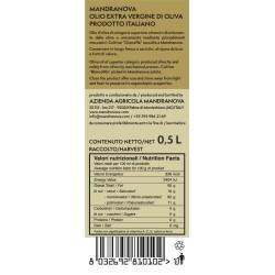 Olivenöl Extra Vergine Giarraffa - Mandranova - 500ml
