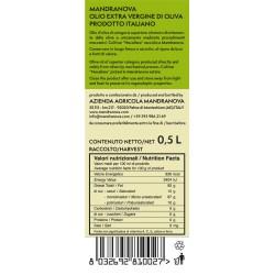 Olivenöl Extra Vergine Nocellara - Mandranova - 500ml