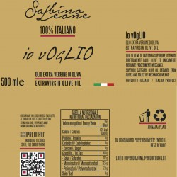 Olivenöl Extra Vergine Io vOgLIO - Sabino Leone - 500ml