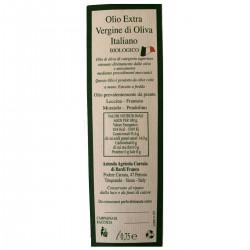 Olivenöl Extra Vergine Biologico - Bardi Carraia - 500ml