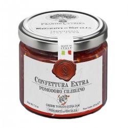 Tomatenkonfitüre aus Kirschtomaten Confettura Extra di Pomodorino Ciliegino -...