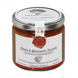 Tomate und Basilikum Pesto e Bruschetta Italico - Cutrera - 190gr
