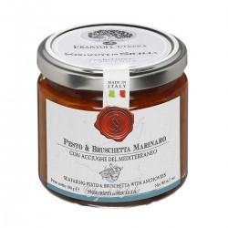 Tomaten und Sardellen Pesto e Bruschetta Marinaro - Cutrera - 190gr