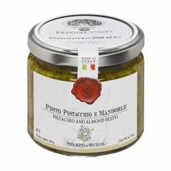 Pistazien und Mandelpesto Pesto Pistacchio e Mandorla - Cutrera - 190gr
