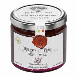 Weingelée Delizia di Vino Nero d'Avola - Cutrera - 225gr
