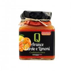Konfitüre aus Orangen, Karotten, Zitronen - Quattrociocchi - 350gr