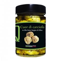 Herz der Artischocke in Extra nativem Olivenöl - Quattrociocchi - 320gr