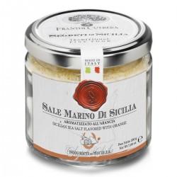 Aromatisiertes Meersalz Orange Sale Marino di Sicilia aromatizzato...