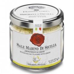Aromatisiertes Meersalz Zitrone Sale Marino di Sicilia aromatizzato al Limone...
