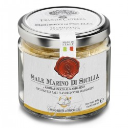 Aromatisiertes Meersalz Mandarine Sale Marino di Sicilia aromatizzato al...