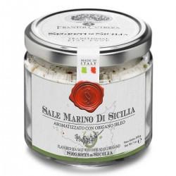 Aromatisiertes Meersalz Oregano Sale Marino di Sicilia aromatizzato...