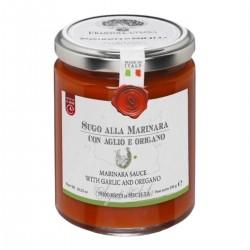 Marinara Sauce mit Knoblauch und Oregano  - Cutrera - 290gr