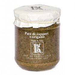 Patè mit Kapern und Oregano - Oro di Pantelleria Kazzen - 85gr