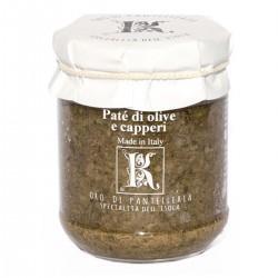 Patè mit Oliven und Kapern - Oro di Pantelleria Kazzen - 85gr