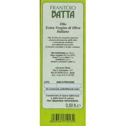 Olivenöl Extra Vergine Italiano - Batta - 500ml