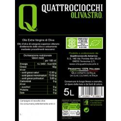 Natives Bio Olivenöl Extra Vergine Olivastro Kanister - Quattrociocchi - 5l