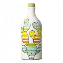 Olivenöl Extra Vergine Keramisches Glas Feigenkaktus coratina - Muraglia - 500ml