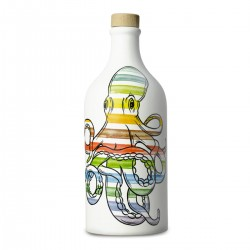 Olivenöl Extra Vergine Keramisches Glas Krake coratina - Muraglia - 500ml