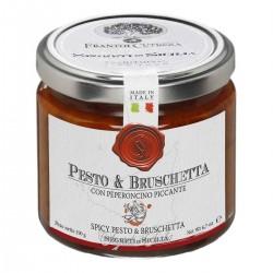 Arrabbiata Pesto Bruschetta - Cutrera - 190gr