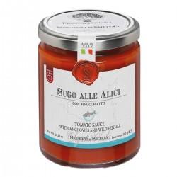 Tomatensauce mit Sardellen und wildem Fenchel - Cutrera - 290gr