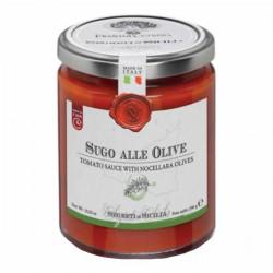 Soße mit Oliven Sugo alle Olive - Cutrera - 290gr