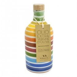 Olivenöl Extra Vergine Keramisches Glas Regenbogen coratina - Muraglia - 100ml